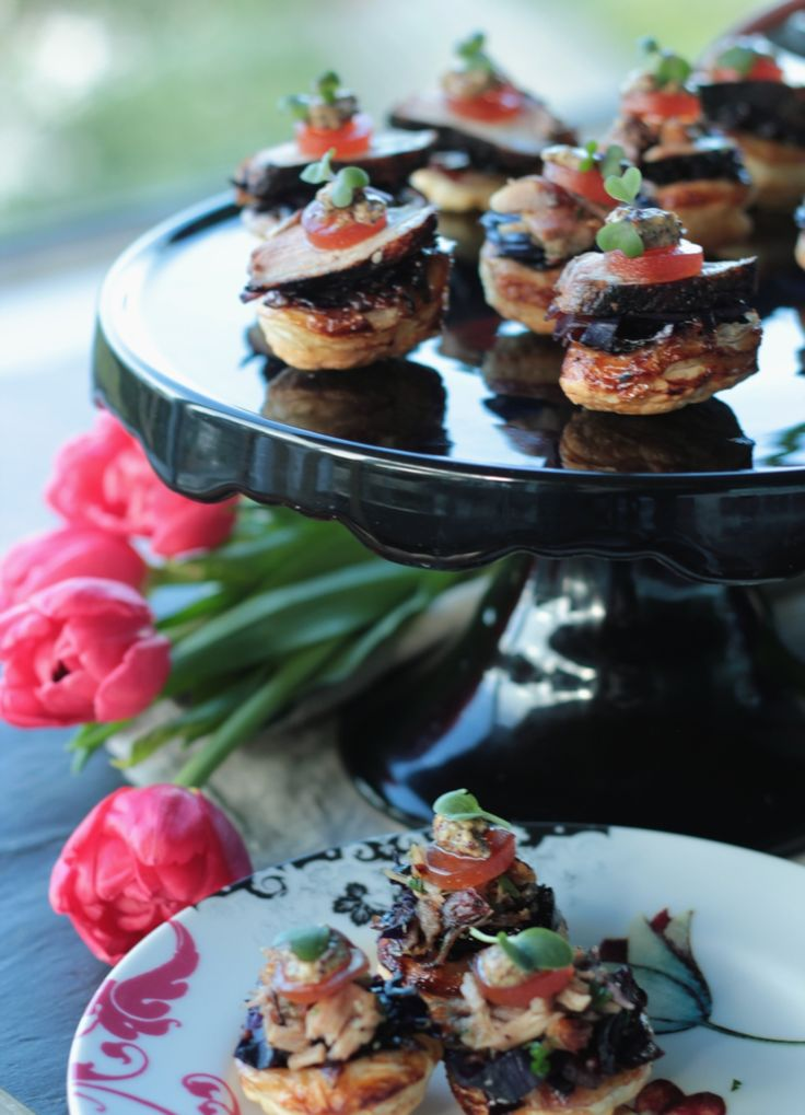 59 best images about christmas canap s on pinterest for Smoked duck canape