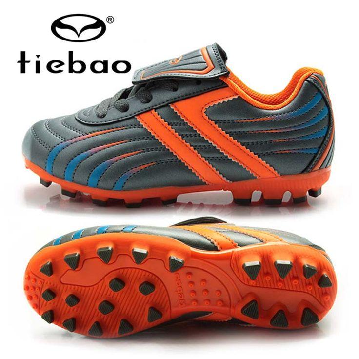 TIEBAO Children Kids Football Shoes EU 28-38 Outdoor Soccer Boots Training Sneakers Football Boots AG Soles Zapatos De Futbol