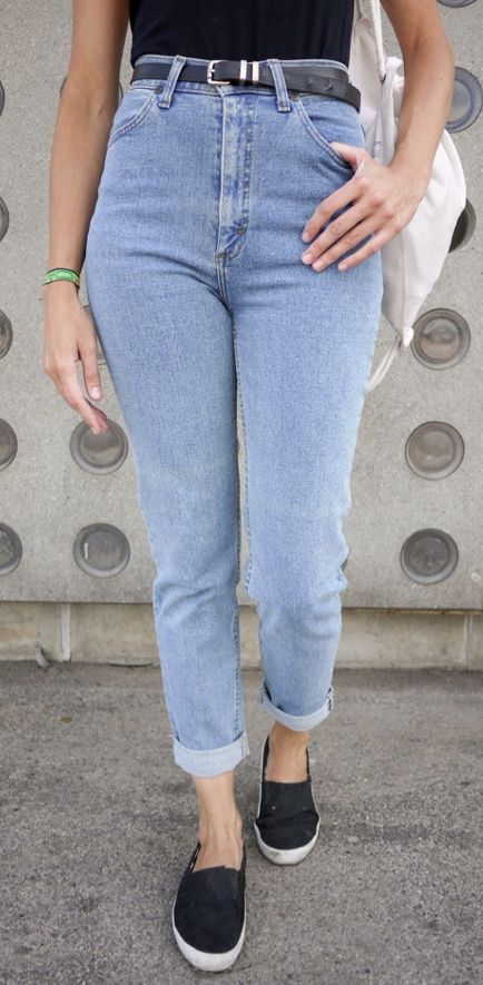 #woman #jeans #denim #cleanlook #freshdenim #highwaist #soft