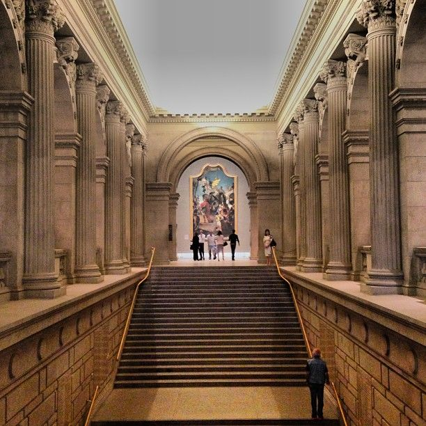 The Metropolitan Museum of Art, New York, NY. I love this museum and have visited several times when in New York. This is a must see for anyone vacationing in the city.