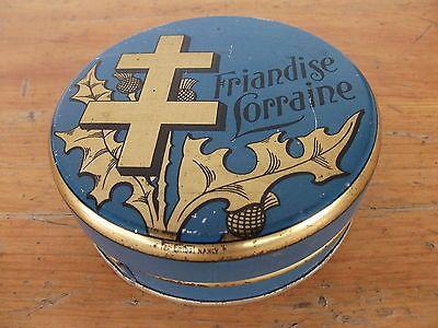 Bergamotes de Nancy  - French confectionery tin