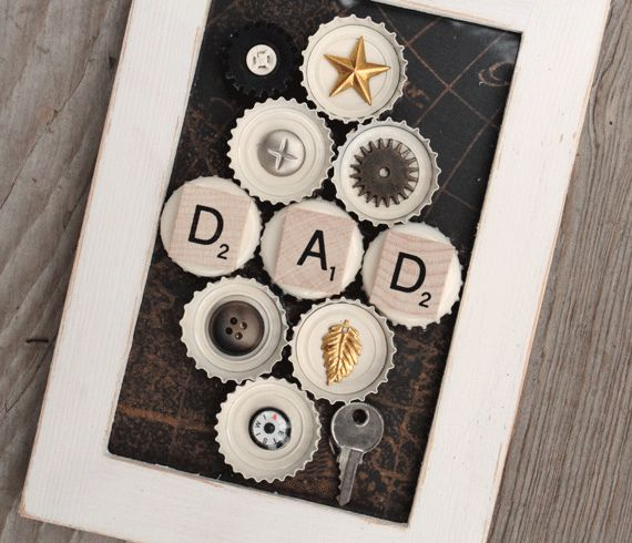 Fathers day - use icons,embellishments that remind of father