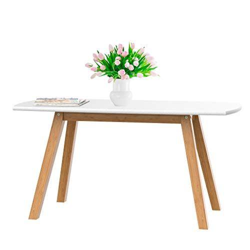 Bonvivo Petite Table Basse Blanche Franz Table De Salon Scandinave Au Design Moderne Table D Appoint En Bo Table D Appoint En Bois Table Basse Bois Table Basse