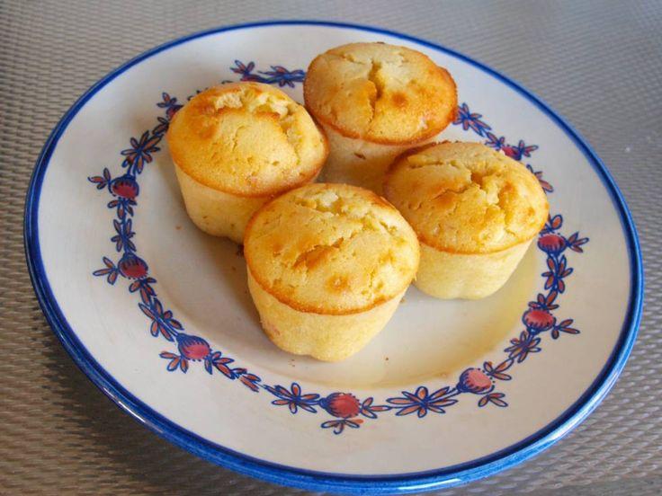 Limoen Ananas Cupcakes recept | Smulweb.nl