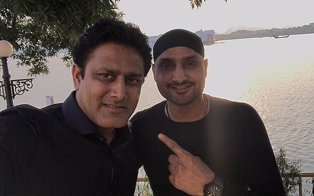 Former Indian spin duo Anil Kumble and Harbhajan Singh to take part in an interaction program on IPL