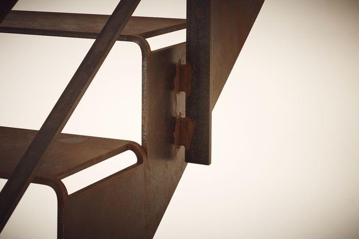 Ausgezeichnete Stahl-Innovation: Treppe cut it! von spitzbart treppen auf der Bau 2017! Oberasbach/Nürnberg. Vom 16.