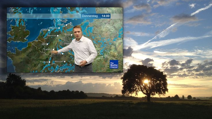 The Weather Channel and weather.com provide a national and local weather forecast for cities, as well as weather radar, report and hurricane coverage
