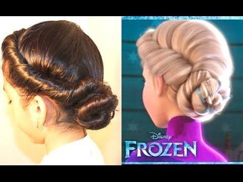 peinado facil coronita con trenza invertida peinados sencillos para ninas youtube