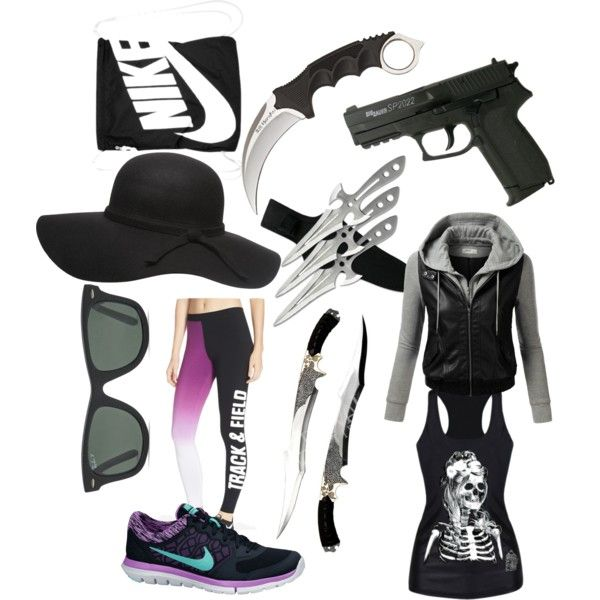 The Scorch Trilas outfit by zuzana-fajtova on Polyvore featuring polyvore fashion style J.TOMSON NIKE Ray-Ban Dorothy Perkins