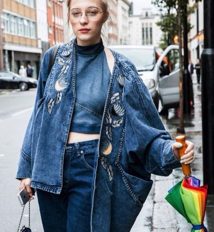 "260 Likes, 5 Comments - Fin Wheeler - Screenwriter (@perfect.jacket) on Instagram: ""Cute upcycled denim!  #denimjackets #upcycledfashion #streetstyle #streetfashion…"""