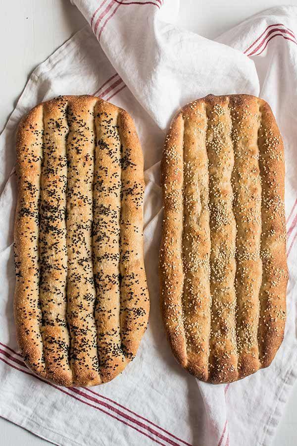 Receta de pan persa paso a paso