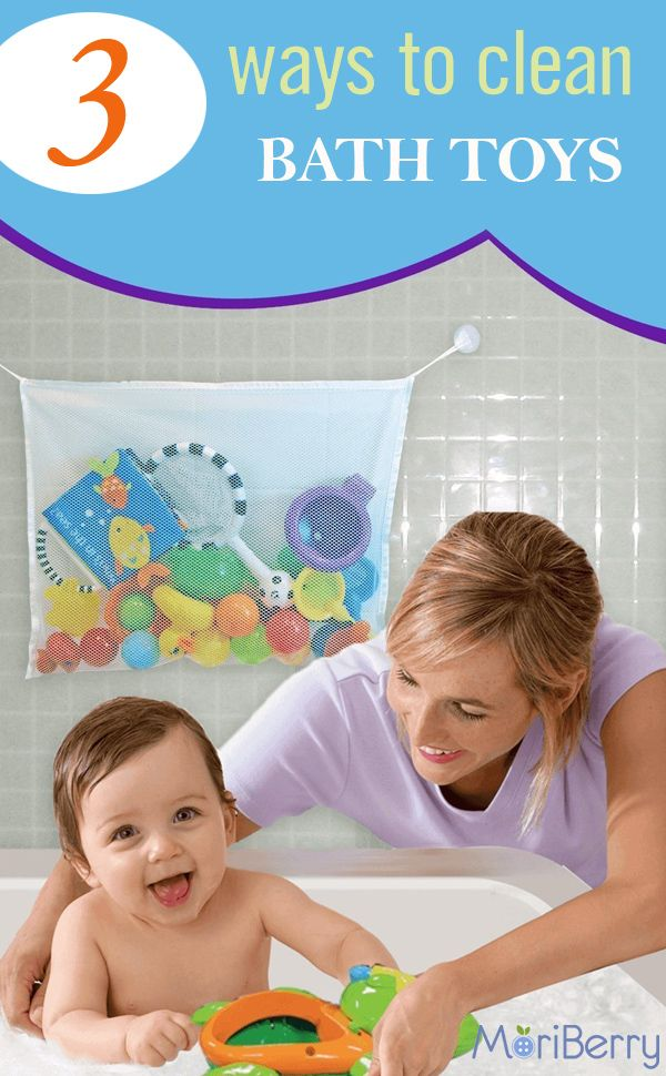 3 ways to clean bath toys; every parent should know http://www.moriberry.com/pages/3-ways-to-clean-bath-toys
