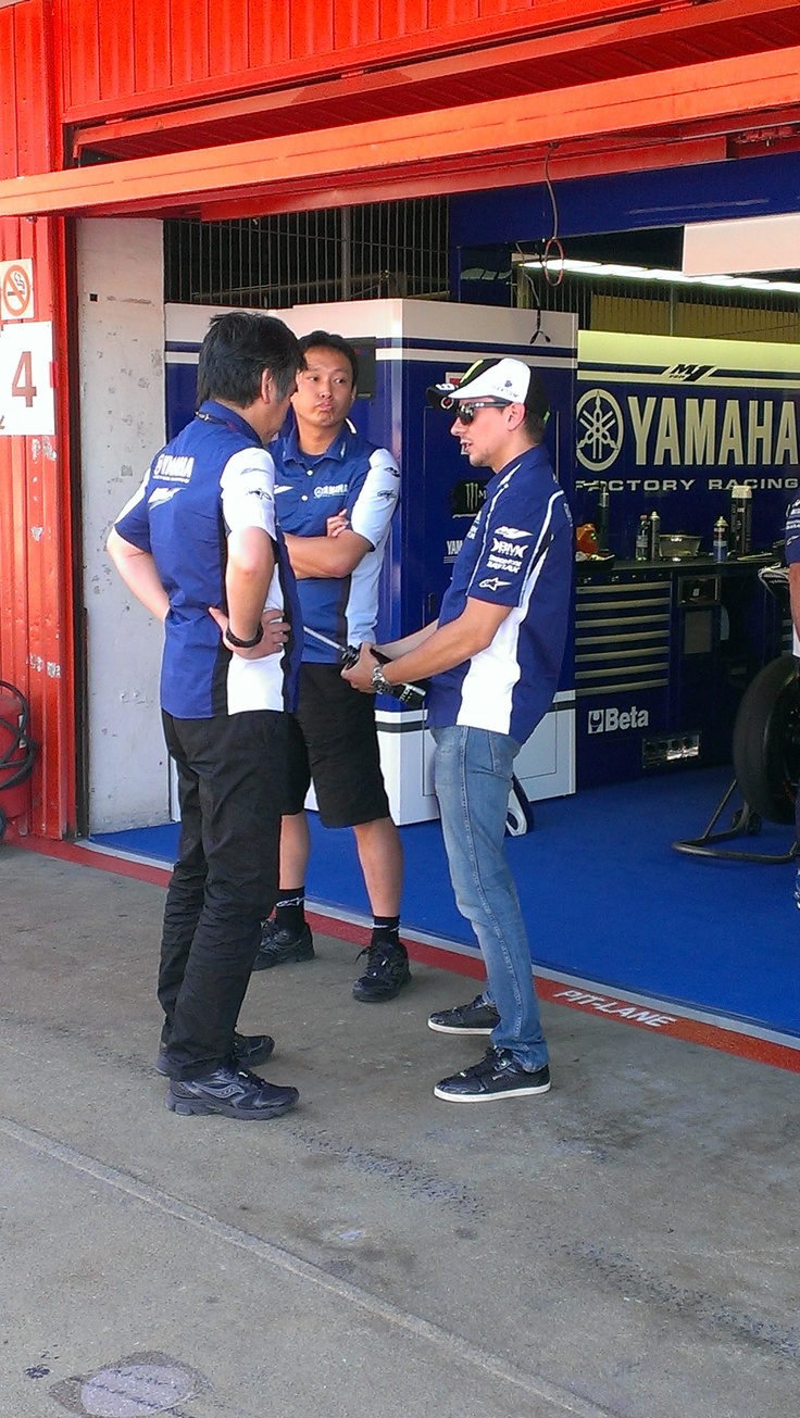 Jorge Lorenzo #MotoGP #Yamaha #Montmelo