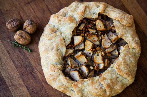 Apple Walnut Gorgonzola Rustic Tart - The Easy Recipes Blog