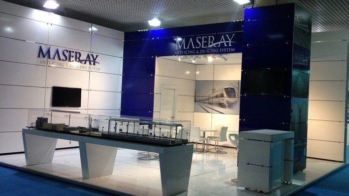 Maseray - Eurasia Rail 2013 İstanbul, Exhibition stand.