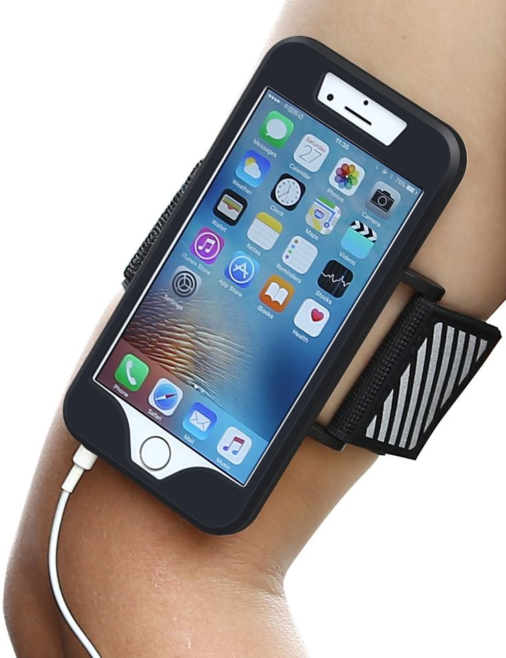 iPhone 6s Armband, iPhone 6s Case, Apoptech Shock-Absorbing Case iPhone 6 Armband Sports Running Armband Hiking Cycling Cell Phone Pouch Belt Soft Flexible Cover Armbands for Apple iPhone 6 6s - Black. iPhone 6s Case Compatible with Apple iPhone 6s (2015) / iPhone 6 (2014), NOT compatible with Large Size iPhone 6 plus / iPhone 6s Plus. iPhone 6s Case: Case is made from high quality soft silicone metarial and belt is made from premium nylon material. Multi-functional: iphone 6s armband…