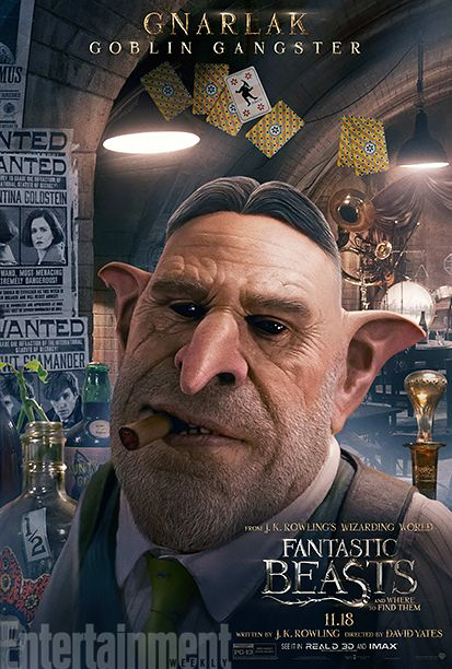 'Fantastic Beasts and Where to Find Them': See 9 Magical Character Posters | Ron Perlman as Gnarlak | EW.com