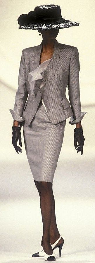 1990 Christian Dior, Spring-Summer. Couture
