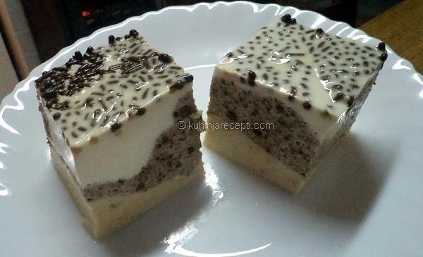 Grčki kolač sa čokoladnim napolitankama i petit keksom