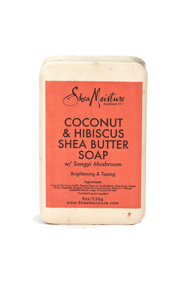 Our nourishing bar soap is specially formulated with organic Shea Butter, Coconut Oil and sweet Hibiscus Flower to cleanse, moisturize and improve skin's firmness. Songyi Mushroom naturally brightens
