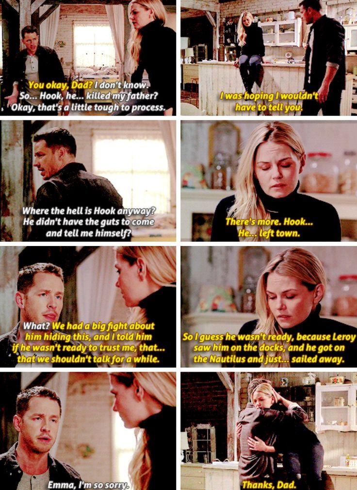 Emma tells her Dad