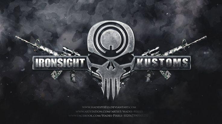 Ironsight Kustoms Logo by HadesPixels.deviantart.com on @DeviantArt