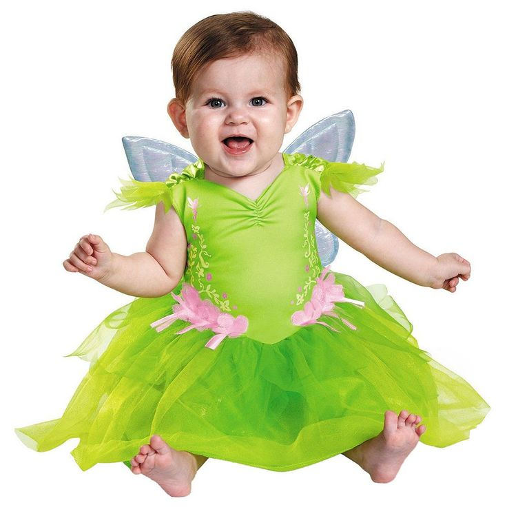 Disney's Tinker Bell Costume - Baby, Infant Girl's, Size: 6-12MONTHS, Multicolor