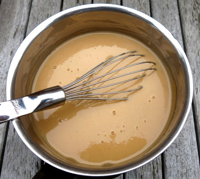 puffball gravy made from dehydrated giant puffballs