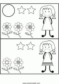 Aradaki Farkı Bulmaca Sayfaları, spot find the differences worksheets pages printables