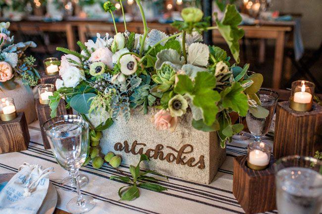 veggie table names