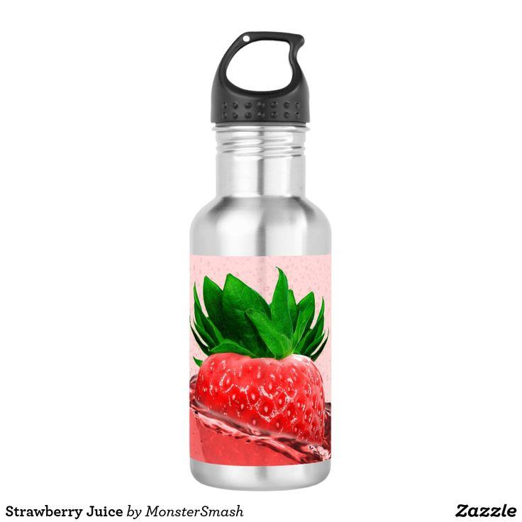 Strawberry Juice 532 Ml Water Bottle