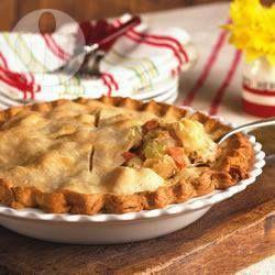 Leftover Chicken and veg pie @ allrecipes.co.uk