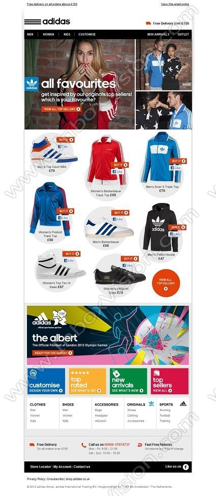 adidas online store