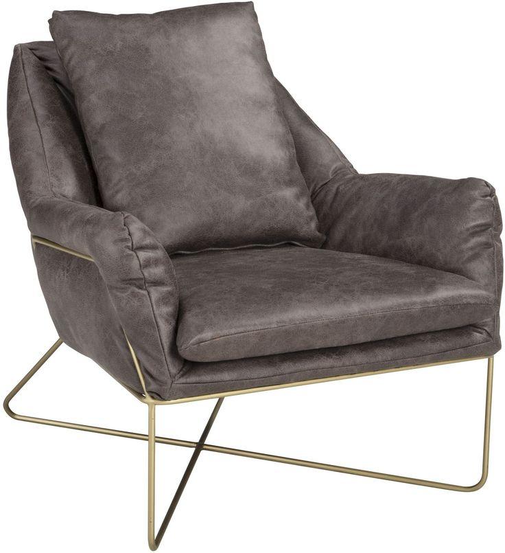 Crosshaven Dark Gray Accent Chair Accent chairs, Grey