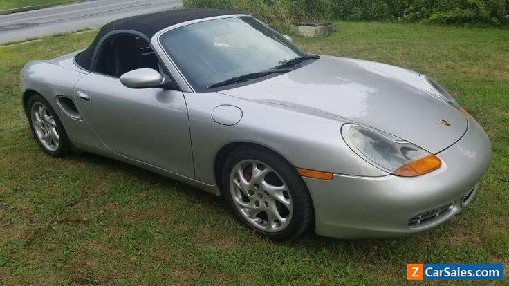 Car for Sale 2000 Porsche Boxster