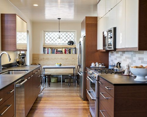 17 best images about kitchen remodels on pinterest for Contemporary galley kitchen ideas