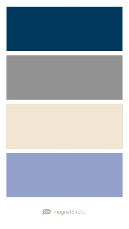 Periwinkle wedding, Color palettes and Wedding color ...