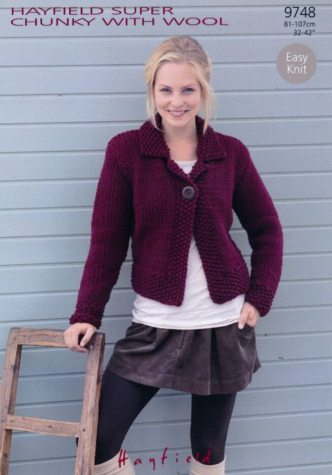 30 best knit: jackets images on Pinterest | Boleros, Clothes and ...