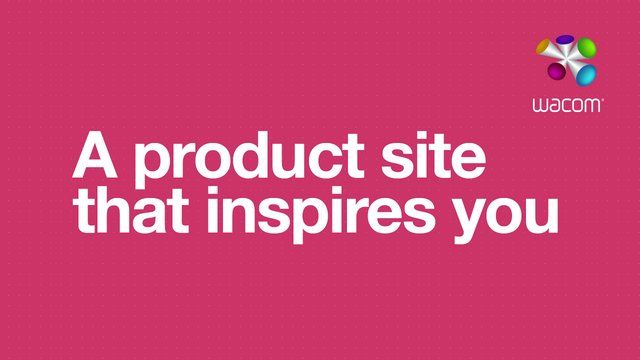 Imagine a product site that is meant to inspire you. A site that showcases and celebrates creativity from all over the world. And rewards loyalty to the brand. A site that helps you find a product that best matches your needs. And knows how to nudge you in the right direction. A site that gives you all that products information, that is easy to understand. Imagine?  Full Case Study http://blog.f-i.com/?p=4188