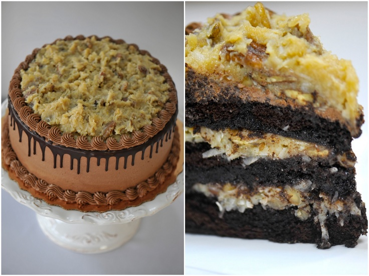 Decorating Ideas For German Chocolate Cake : german chocolate cake decorating idea cakes Pinterest