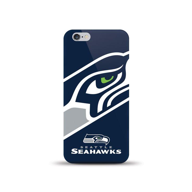 Mizco Iphone 6 Nfl Oversized Snap Back Tpu Case Seattle Seahawks, #Mizco International