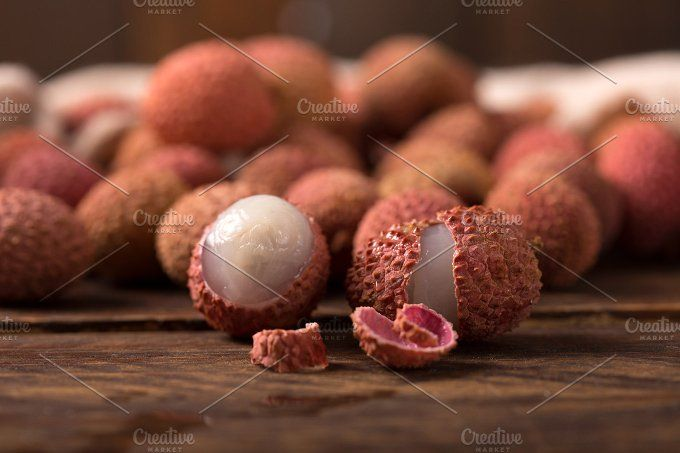 fresh lychee by peterzsuzsa on @creativemarket
