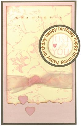 Stamp-it Australia: 4338D Circle For You, 4208D Leaf Swirl - Card by Susan