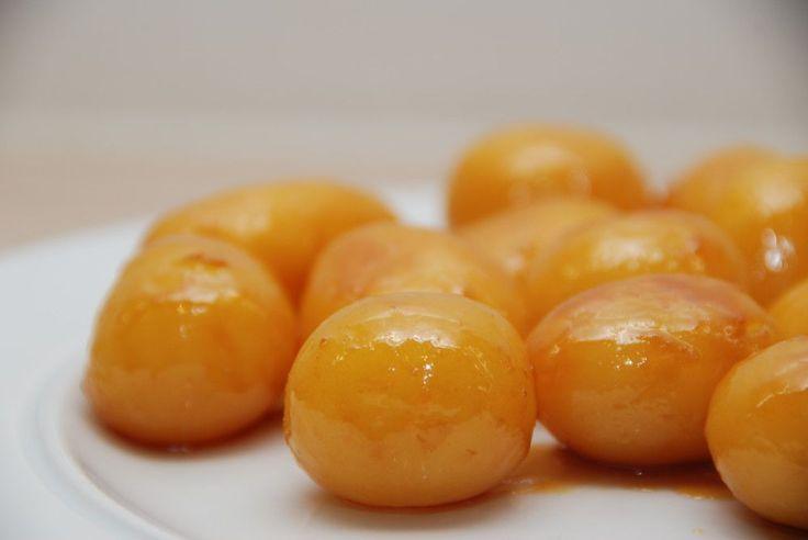 Gammeldags brunede kartofler - opskrift med billeder