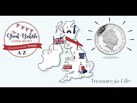 The Great British 10p coin hunt, Quintessentially British A to Z