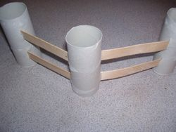 Make fences for a cowboy theme or farm theme using toilet paper tubes and popsicle sticks from Making Learning Fun.