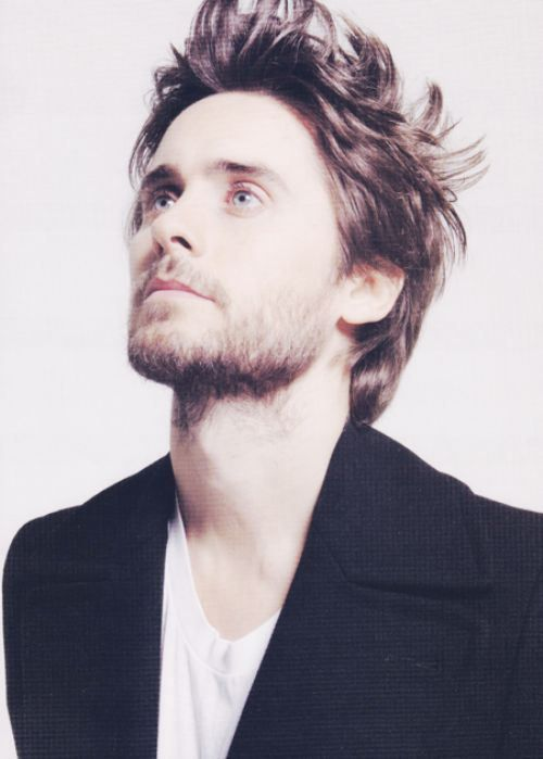 Jared Leto! Such a creative and inspiring man! #30STM and he's over 42