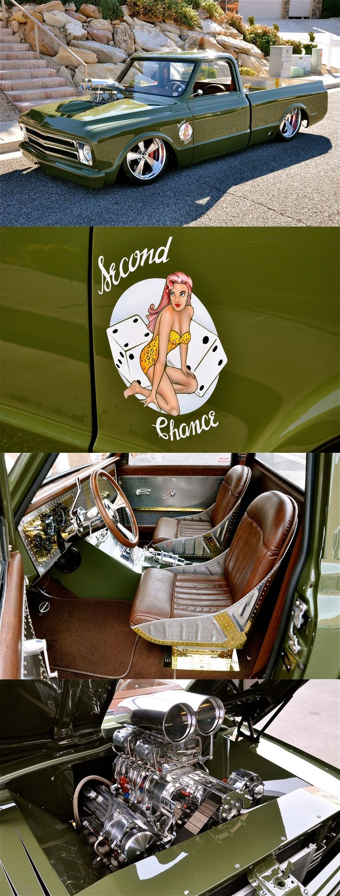 """1969 Chevrolet C10 Military Custom - """"Second Chance""""...Brought to you by #House of #Insurance in #EugeneOregon"""