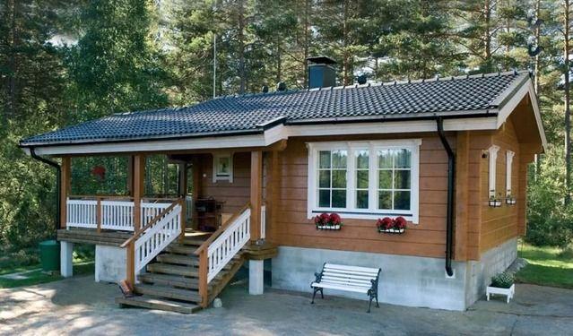 одноэтажные финские деревянные дома фото: 18 тыс ...