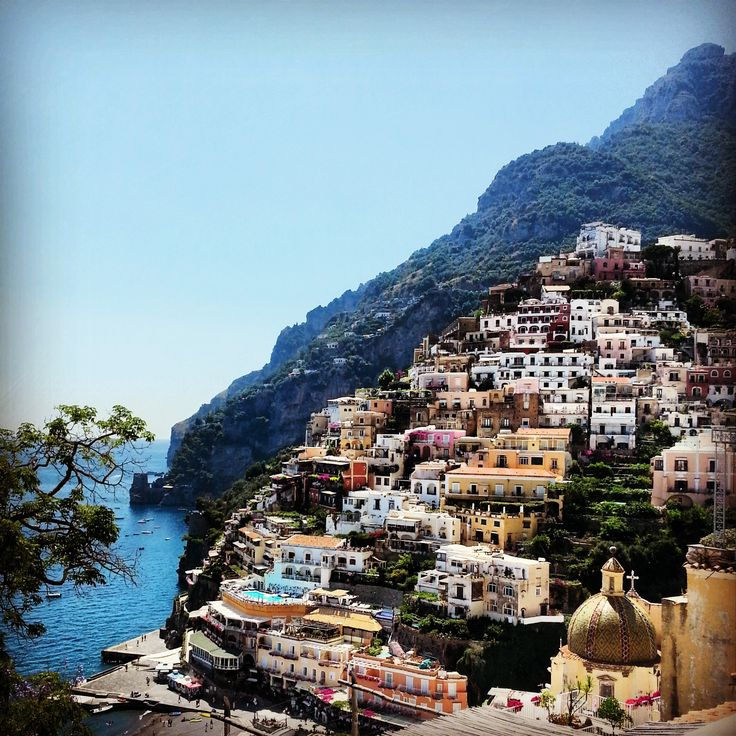 'Positano bites deep. It is a dream place that isn't quite real when you are there and becomes beckoningly real after you have gone'. - John Steinbeck.   Positano, Italy.